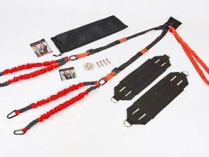 Тренажер для Банджи Фитнес 4D PRO TRAINER (ремни, ленты, рукоятки, удлинитель, дверное крепление, X-Mount)