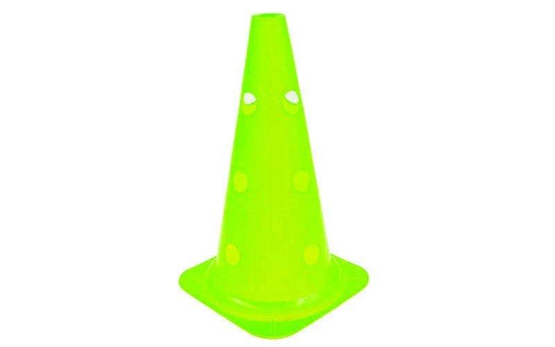 Фишка спортивная конус с отверстиями для штанги 48см (C-4604-48)(пластик, 48см,  цвета в ассортименте)