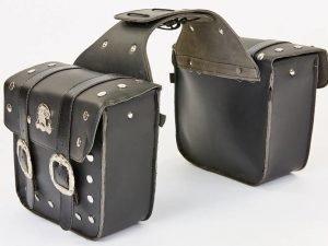 Мотосумка (2 кофра) HARLEY DAVIDSON (PL, р-р 31х30х10см, черный)