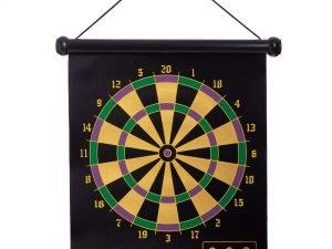 Мишень для игры в дартс магнитная двусторонняя Baili (р-р 37×44,5см, в комплекте 6 дротиков)