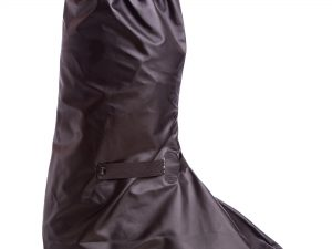 Мотобахилы дождевые (PVC, р-р L-XL30-32см) - Черный-L-30см