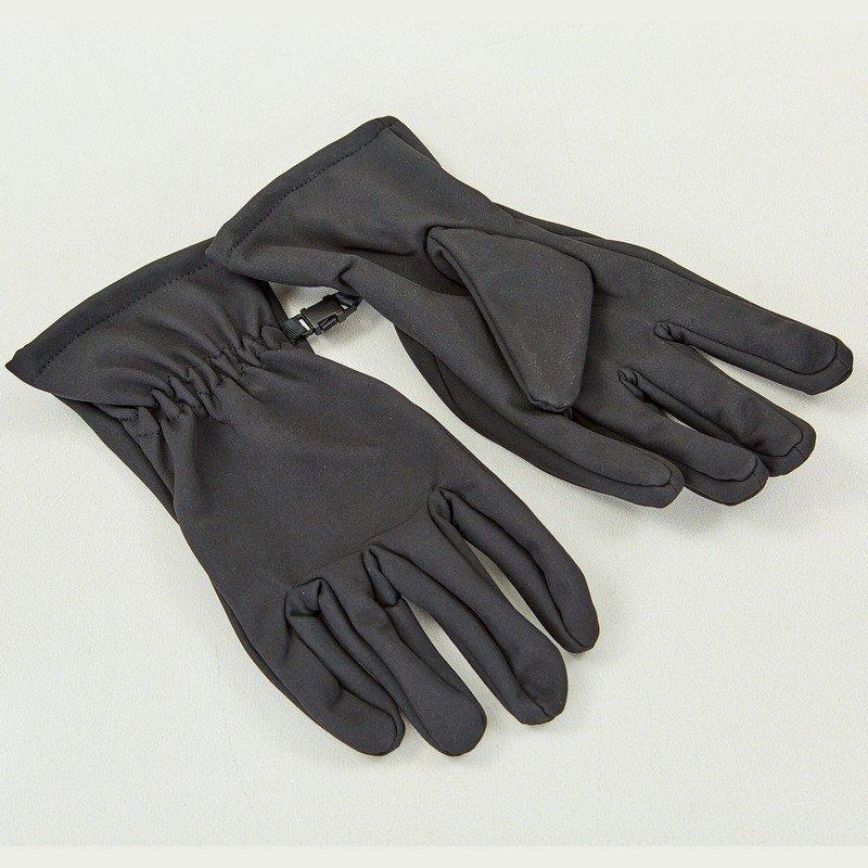 Перчатки для охоты, рыбалки и туризма теплые флисовые (флис, полиэстер, закрытые пальцы, р-р M-XL, цвета в ассортименте)