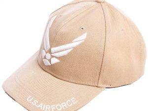 Бейсболка тактическая US AIR FORCE (хлопок, полиэстер, размер регулируемый, цвета в ассортименте) - Цвет Хаки