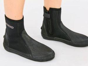 Ботинки для дайвинга LEGEND (неопрен, резина, р-р M-XXL, EU-40-46, RUS-40-45, черный) - M (40)