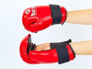 Перчатки для тхэквондо DADO (PU, р-р S-XL, красный) - L