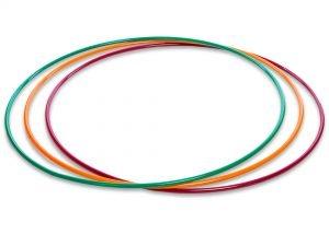 Обруч цельный гимнастический металлический SP-Planeta (d-90см,вес 750г,d трубы 16мм,толщ.стенки-1мм, цвета в ассортименте)