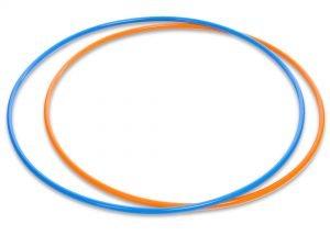 Обруч цельный гимнастический металлический SP-Planeta (d-70см,вес 600г,d трубы 16мм,толщ.стенки-1мм, цвета в ассортименте)