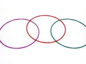 Обруч цельный гимнастический металлический SP-Planeta (d-75см,вес 650г,d трубы 16мм,толщ.стенки-1мм, цвета в ассортименте)