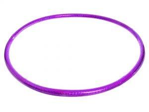 Обруч цельный гимнастический пластиковый Record (d-55см, для детей 5-6лет)