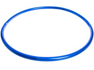 Обруч цельный гимнастический пластиковый Record (d-75см, для детей 9-10лет)