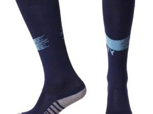 Гетры футбольные с символикой футбольного клуба MANCHESTER CITY HOME 2019 (размер 27-34, т.синий)