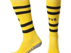 Гетры футбольные с символикой футбольного клуба BORUSSIA DORTMUND HOME 2019 (размер 27-34, желтый)
