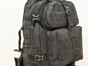 Рюкзак тактический штурмовой SILVER KNIGHT 30 литров (нейлон, размер 44х32х21см, цвета в ассортименте) - Цвет Черный