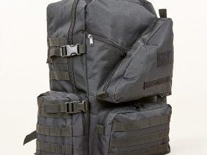 Рюкзак тактический рейдовый SILVER KNIGHT 40 литров (нейлон, размер 51х32х26см, цвета в ассортименте) - Цвет Черный
