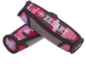 Гантели для фитнеса с мягкими накладками Zelart (2×0,5кг) (2шт, наполнитель-метал.шарики, розовый камуфляж)