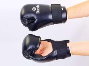 Перчатки для тхэквондо DADO (PU, р-р S-L, черный) - L