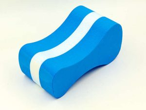 Колобашка для плавания (EVA, р-р 22x11x8см, синий-белый)