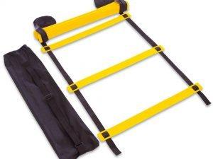 Координационная лестница дорожка для тренировки скорости 10м (20 переклад) (10мx0,52мx2мм,цвета в ассортименте) - Цвет Желтый