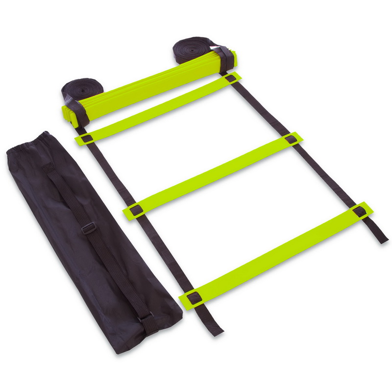 Координационная лестница дорожка для тренировки скорости 10м (20 переклад) (10мx0,52мx2мм,цвета в ассортименте)