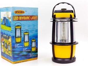 Фонарь кемпинговый светодиодный переносной (20 ламп, на бат. (2 C), р-р 25х12см)