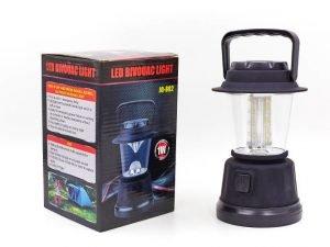 Фонарь кемпинговый светодиодный переносной (16 led ламп, на бат. (4 AA), р-р 18х11см)