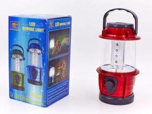 Фонарь кемпинговый светодиодный переносной (12 led ламп, на бат. (3 AA), р-р 17,5х8,5см)