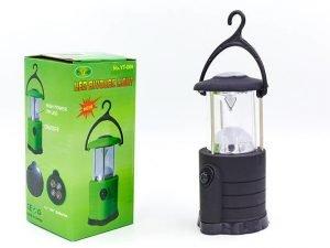 Фонарь кемпинговый светодиодный переносной (1 W LED, на батарейках (4 AA), d-14см, h-6,5см)