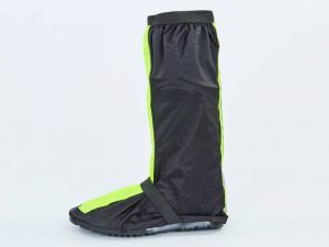 Мотобахилы дождевые (PVC, р-р L-XL, 43-44, черный-салатовый) - Черный-салатовый-L-30см