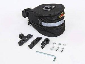 Сумка на багажник велосипеда (PL, р-р 8x10x10,5см, черный)
