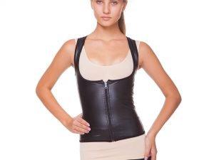 Топ для похудения компрессионный с эффектом сауны женский (изопрен каучук., M-3XL-44-54) - 2XL (50-52)