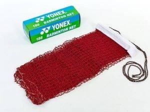 Сетка для бадминтона YONEX (нейлон, р-р 6×0,76м, ячейка р-р 2х2см)