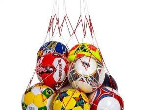 Сетка для мячей С-3959 (полипропилен, на 12 мячей, ячейка р-р 11×11см)