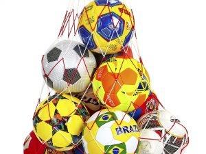 Сетка для мячей С-4560 (нейлон, на 12 мячей, ячейка р-р 11×11см)