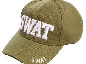 Бейсболка тактическая SWAT Tactical (хлопок, полиэстер, размер регулируемый, цвета в ассортименте) - Цвет Оливковый