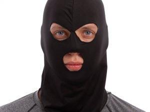 Подшлемник балаклава тактическая (полиэстер, эластан, черный)