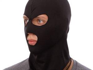 Подшлемник балаклава тактическая (коттон, эластан, черный)