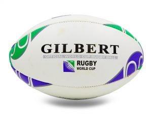 Мяч для регби кожаный GILBERT (кожа, р-р 12in, №5)