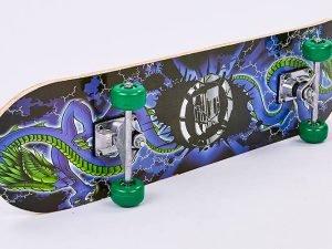 Скейтборд в сборе (роликовая доска) (колесо-PVC, р-р деки 78х20х1,2см, 608Z)