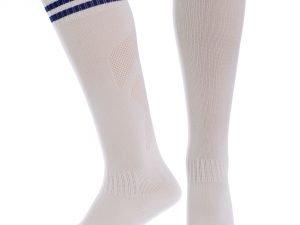 Гетры футбольные детские (терилен, размер 27-34, цвета в ассортименте) - Цвет Белый