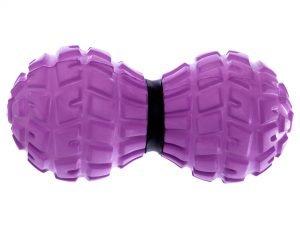 Массажер для спины Record DuoBall MASSAGE BALL (EVA, PVC, размер 13,6x6,5см, цвета в ассортименте) - Цвет Фиолетовый
