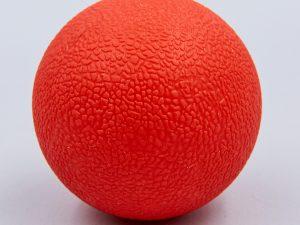 Массажер для спины Ball Rad Roller (TPR, d-6,5см, цвета в ассортименте) - Цвет Красный