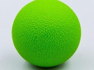Массажер для спины Ball Rad Roller (TPR, d-6,5см, цвета в ассортименте) - Цвет Зеленый