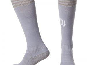 Гетры футбольные с символикой футбольного клуба JUVENTUS AWAY 2019 (размер 27-34, серый)