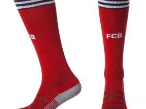 Гетры футбольные с символикой футбольного клуба BAYERN MUNCHEN HOME 2019 (размер 27-34, красный)