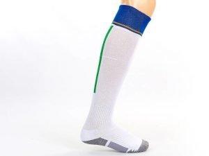 Гетры футбольные с символикой сборной Италии ITALY (размер 32-43, белый) - 39-43