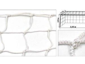 Сетка на ворота футзальные, гандбольные профессиональная (2шт) Элит1.1 UR (PP4,5мм, яч.12см)