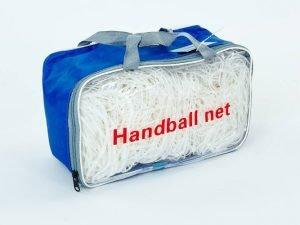 Сетка на ворота футзальные, гандбольные тренировочная (2шт) (PE 2мм,яч 10×10см, р-р 2мx3мx1м)
