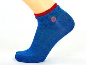 Носки спортивные мужские укороченные Conv (полиэстер,хлопок, р-р 40-44, цвета в асссортименте)