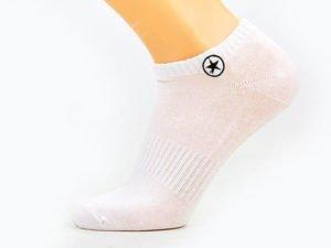 Носки спортивные мужские укороченные Conv (полиэстер, хлопок, р-р 40-44, цвета в асссортименте) - Цвет Белый