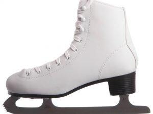Коньки фигурные белые PVC (р-р 34-41, лезвие-сталь) - 34